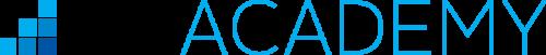 Blue logo white bg