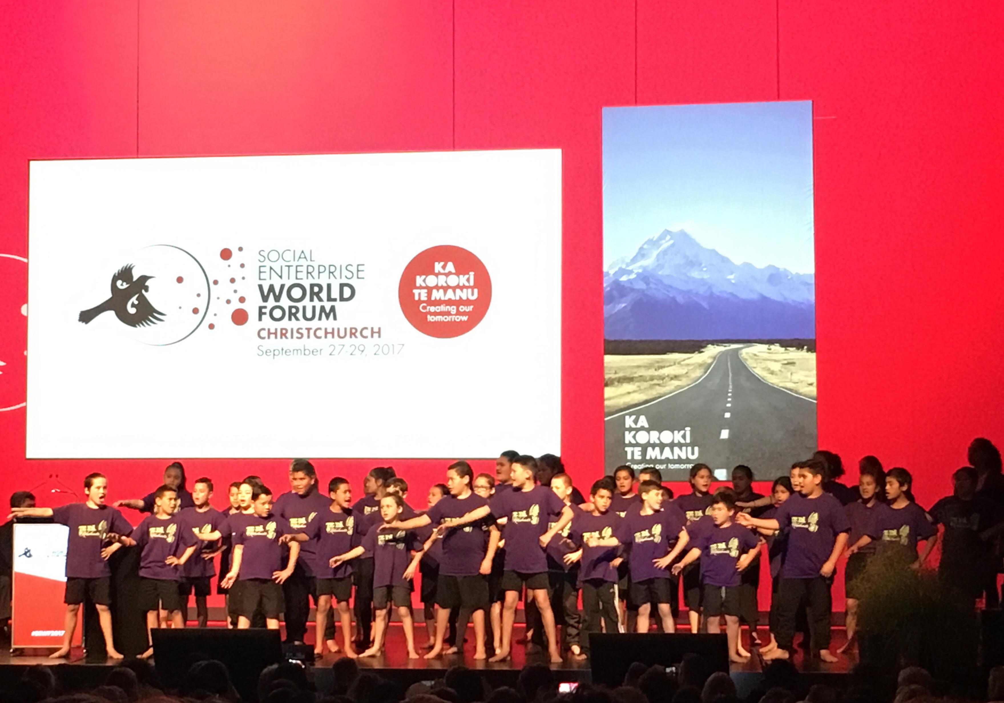 NZ Social Enterprise World Forum Blog